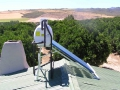 Low pressure solar geyser system near Citrusdal