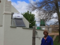Low pressure solar geyser system at Devon Valley_Stellenbosch