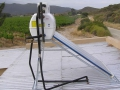 Low pressure solar geyser system near Tulbagh