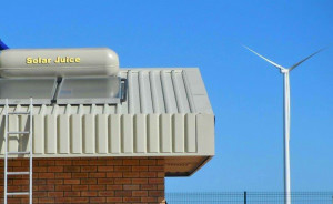 Solar Juice installs at Eskom Sere Wind Farm